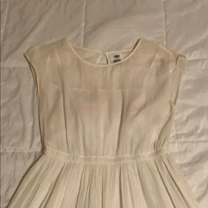 Old Navy White Sundress (with white lining)